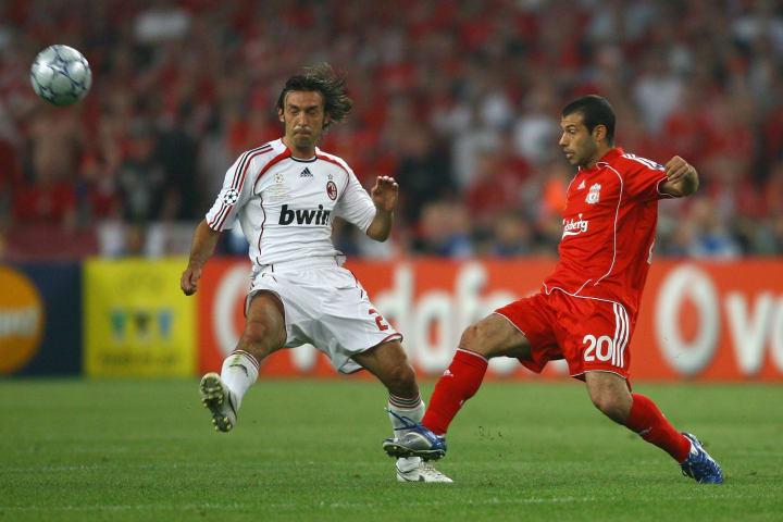 Andrea Pirlo, Javier Mascherano