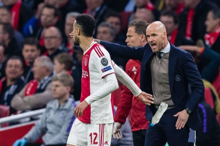 Ten Hag masterminded Ajax's run to the semi-final of the 2018/19 Champions League