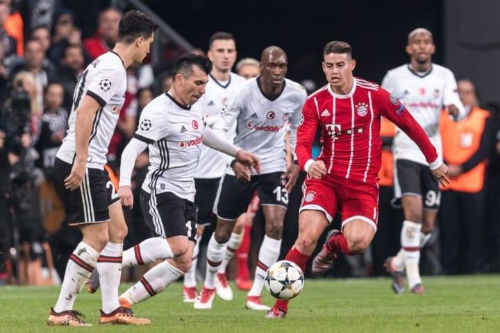 "UEFA Champions League""Besiktas AS v Bayern Munchen"""