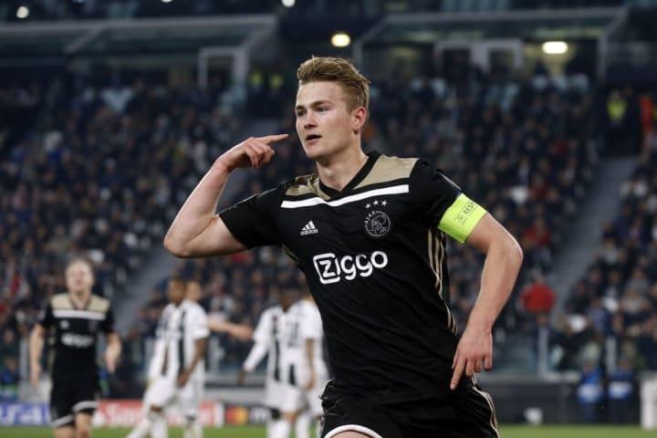 Mattias De Ligt était le capitaine de l'Ajax lors de l'épopée en 2019.