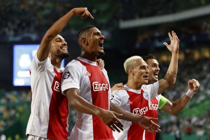 Sebastian Haller was Ajax's hero on matchday one