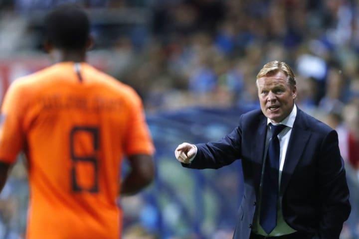 "UEFA EURO 2020 qualifier group C""Estonia v The Netherlands"""