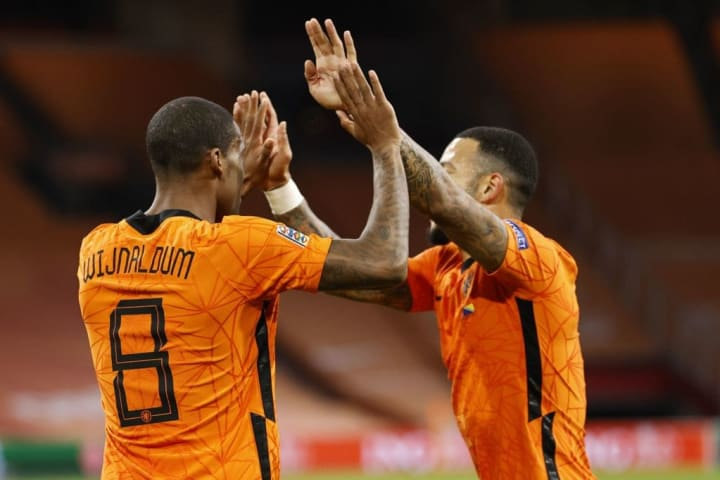 "UEFA Nations League qualifier""The Netherlands v Bosnia and Herzegovina"""