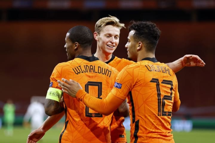 The Netherlands are back after missing the 2018 World Cup
