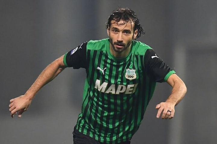 Gian Marco Ferrari has settled into the Sassuolo starting XI after a number of loan moves