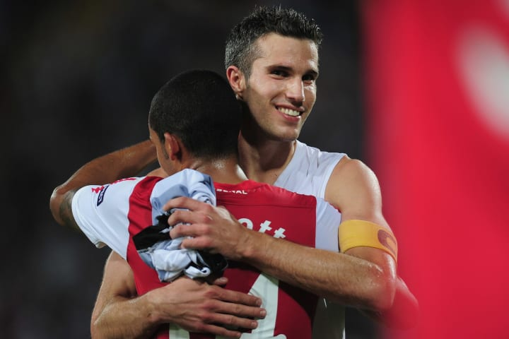 Van Persie had some good Champions League times with Arsenal