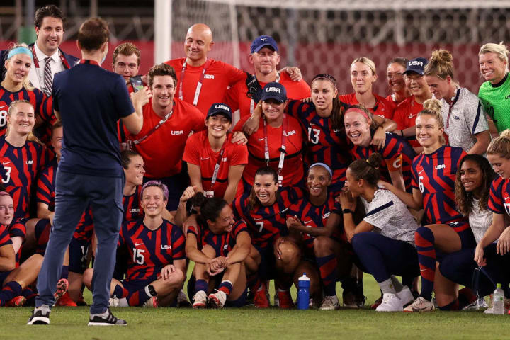 Some of the older USWNT players may have played their last major international tournament