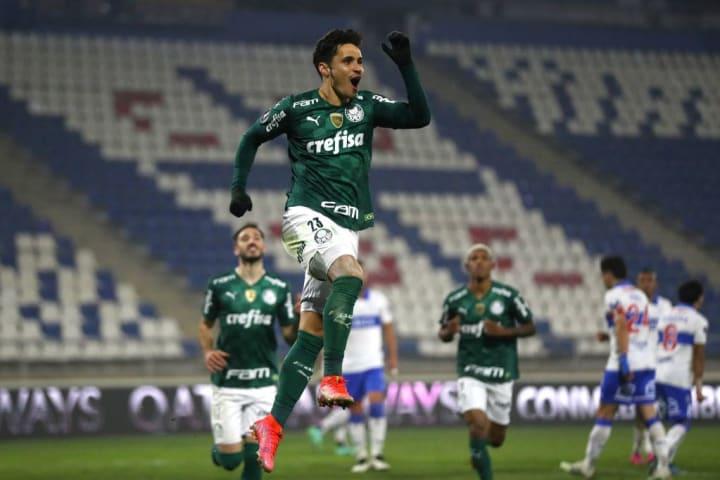 Raphael Veiga Palmeiras Universidad Católica Libertadores