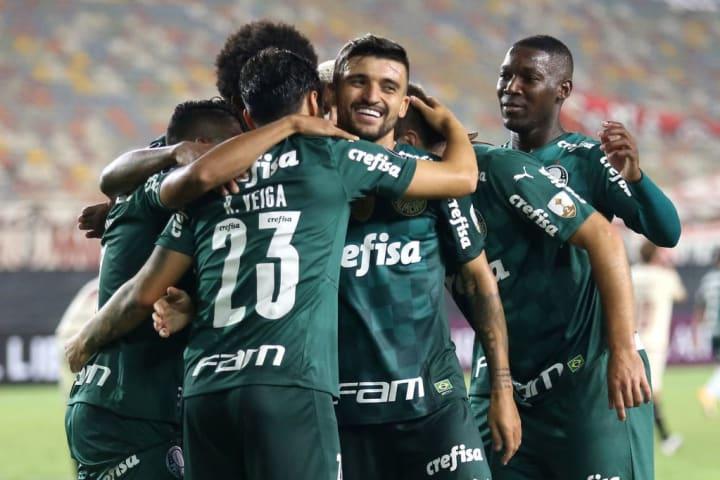 Palmeiras Del Valle Libertadores Vaga Abel Ferreira