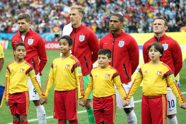 Steven Gerrard, Joe Hart, Glen Johnson, Wayne Rooney