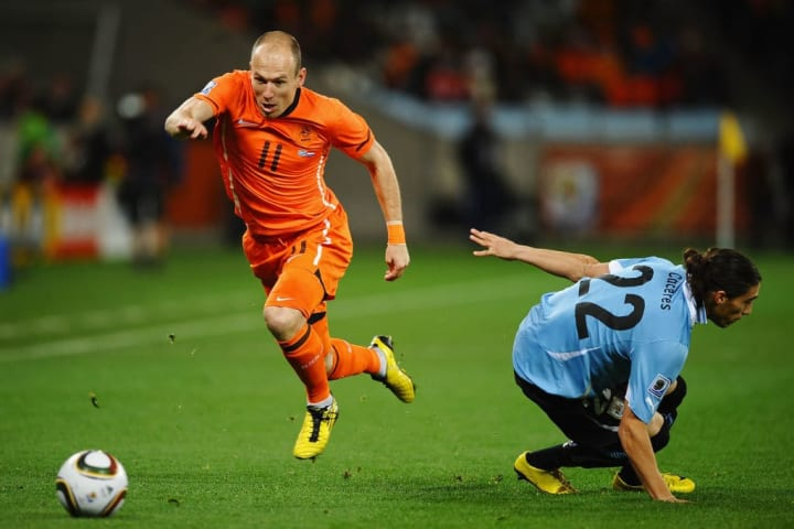 Robben's dribbling was one of his greatest attributes