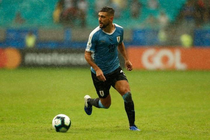 Giorgian De Arrascaeta Uruguai Copa América Meia