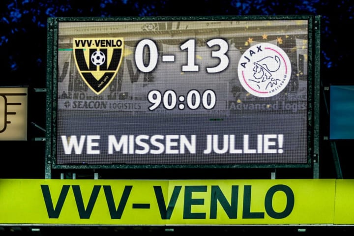 VVVvVenlo - Ajax - Dutch Eredivisie