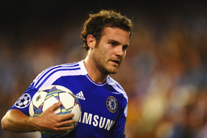 Mata was crucial in the Blues' run to glory in 2012