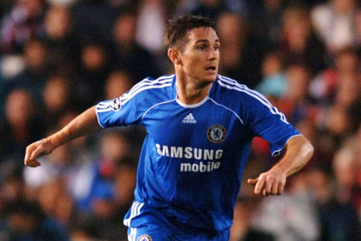 Frank Lampard scored for fun during his time in Chelsea's midfield