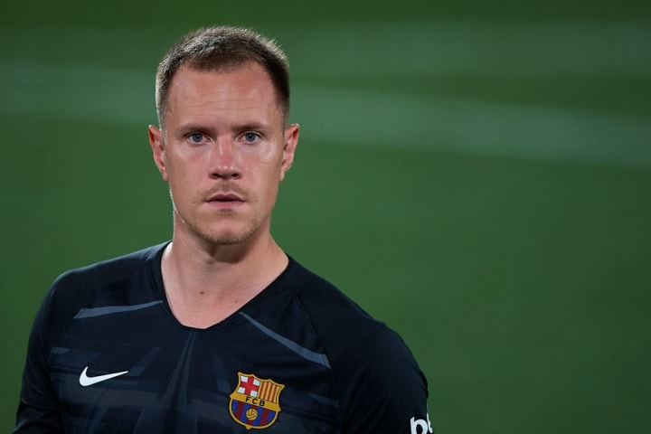 Marc-André ter Stegen is rated as one of Europe's best goalkeepers, but it was only a random act of fate that put him between the sticks