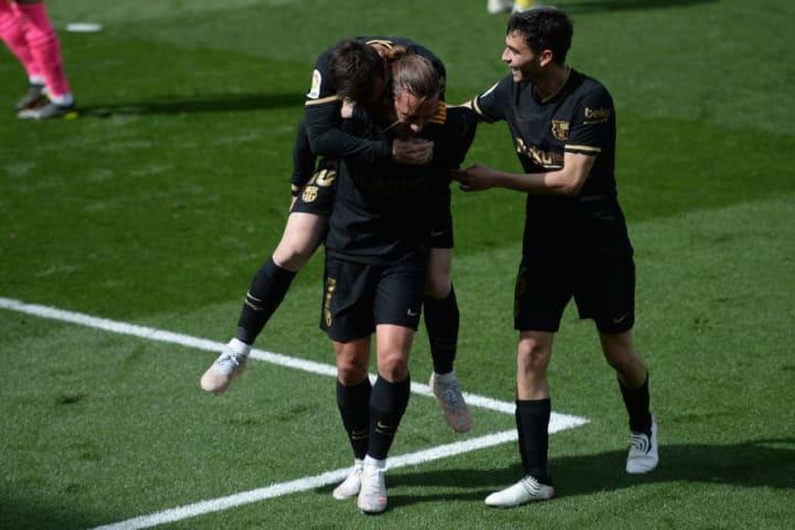 Antoine Griezmann, Lionel Messi, Pedri