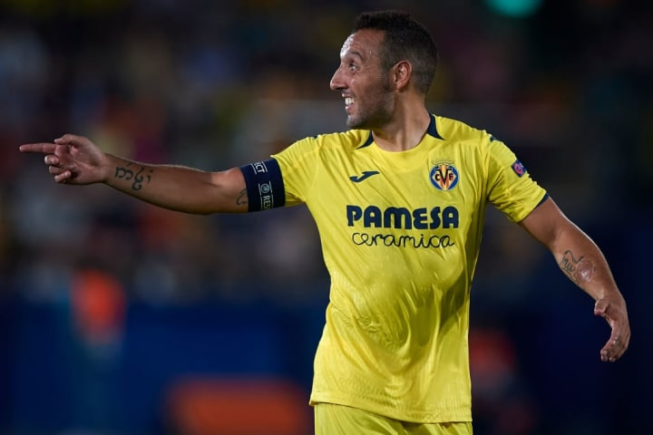 Santi Cazorla made his Europa League comeback in 2018 after almost losing his foot