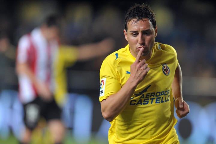 Cazorla scored five goals and registered as many assists as Villarreal finished as runners-up in 2008