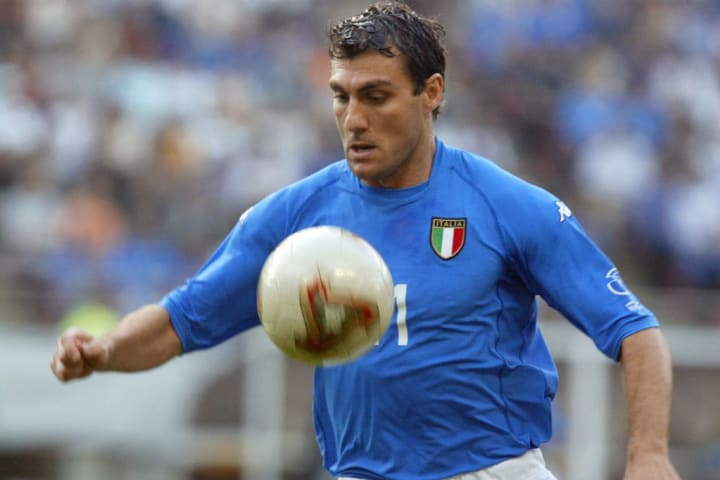 Vieri retired the year before Italy won the 2006 World Cup