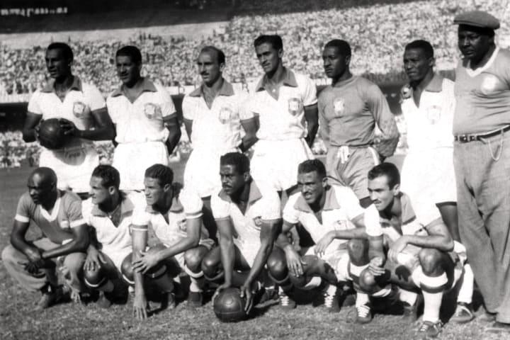 WORLD CUP-1950-BRAZIL-TEAM