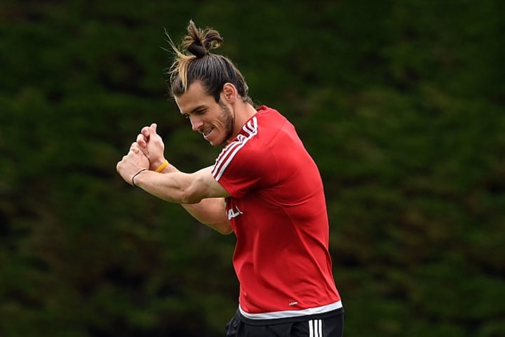Gareth Bale has had plenty of time to practice his golf swing in recent years