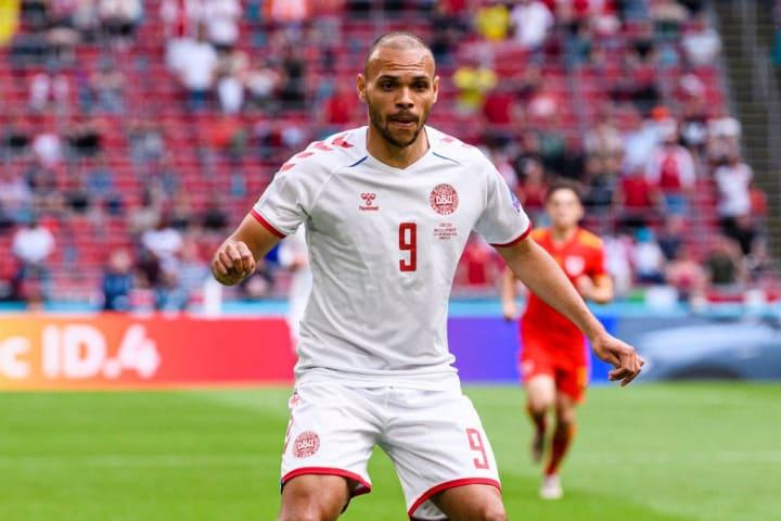 Martin Braithwaite Dinamarca República Tcheca Quartas Eurocopa