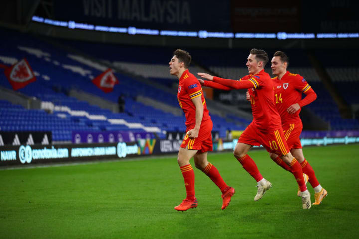 Daniel James, Harry Wilson, Connor Roberts