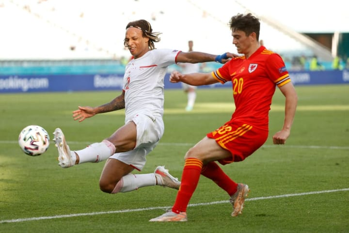James played well for Wales against Switzerland