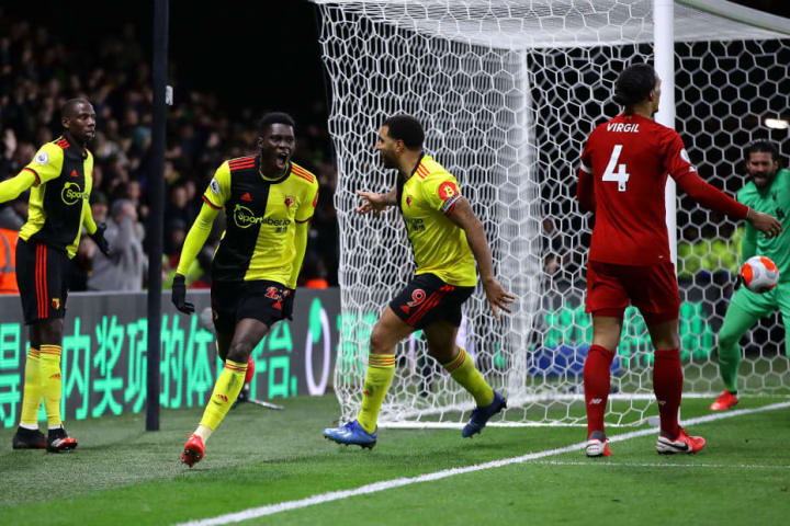 Ismaila Sarr, Troy Deeney