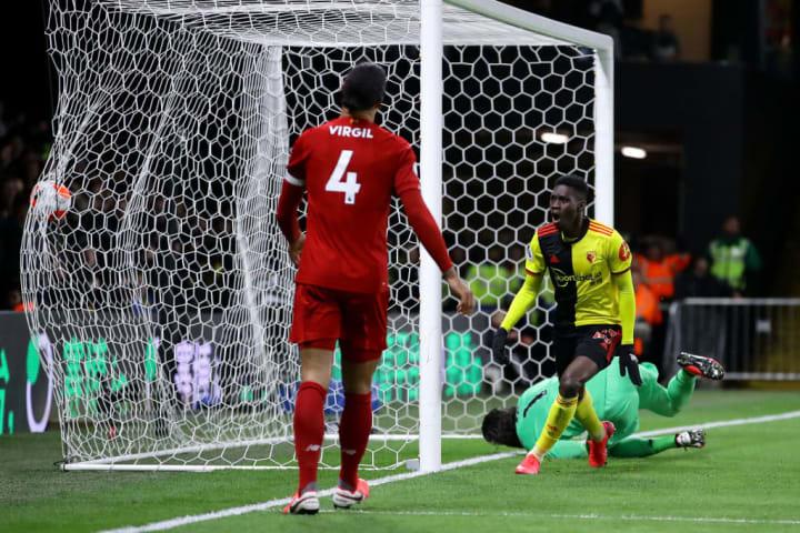 Sarr impressed against Liverpool last season