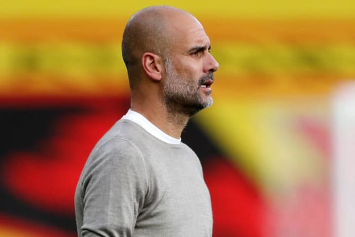Guardiola knows he will need to shore up defensively if City are to retain their crown