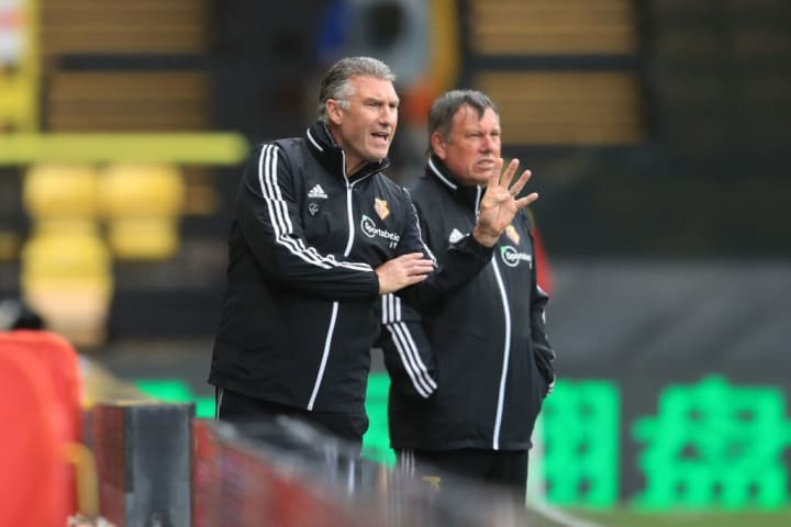 Nigel Pearson urges his side on, ultimately to no avail