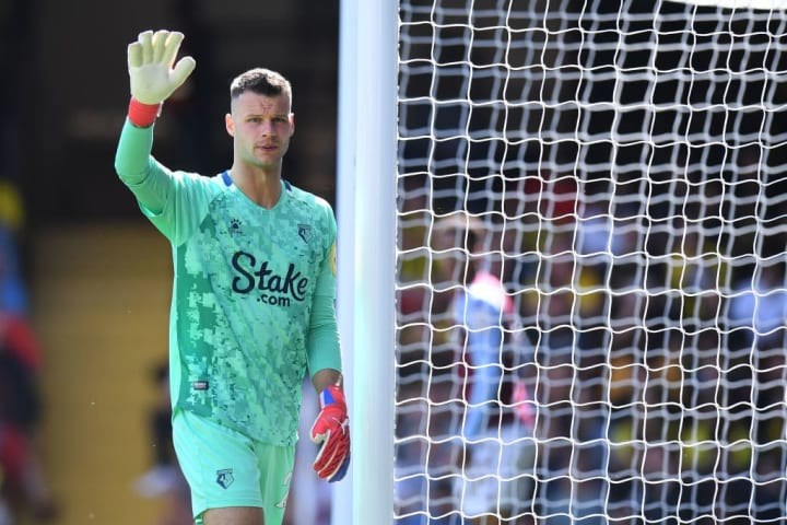 Daniel Bachmann, 11 years younger than fellow club goalkeeper Ben Foster, was picked ahead of his more experienced teammate last weekend