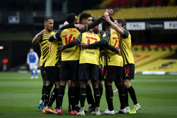 Watford strengthened their grip on second place with a win over Birmingham