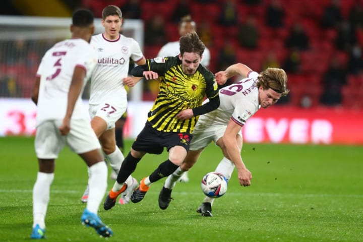 Watford couldn't overcome a spirited Brentford side