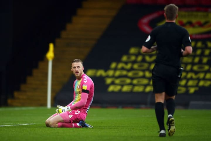 Conceding six goals is never nice as the man between the sticks