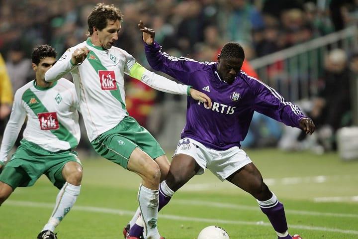 Frank Baumann während des CL-Gruppenspiels 2004 gegen RSC Anderlecht