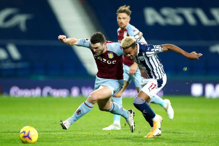 McGinn was everywhere against the Baggies