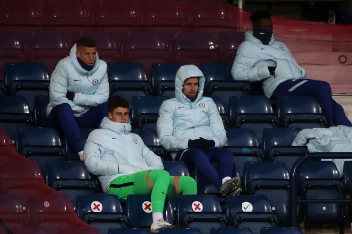 The Italian watched on at the Hawthorns