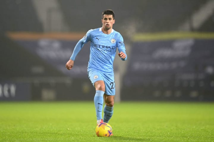 Cancelo is one of many full-backs Guardiola has signed since summer 2016
