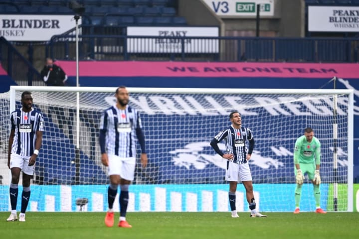 West Bromwich Albion have struggled this season