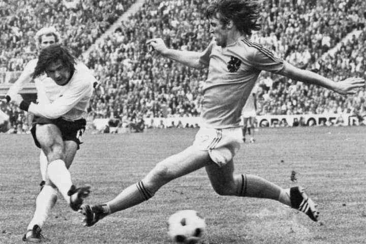 Muller won two different international tournaments for West Germany