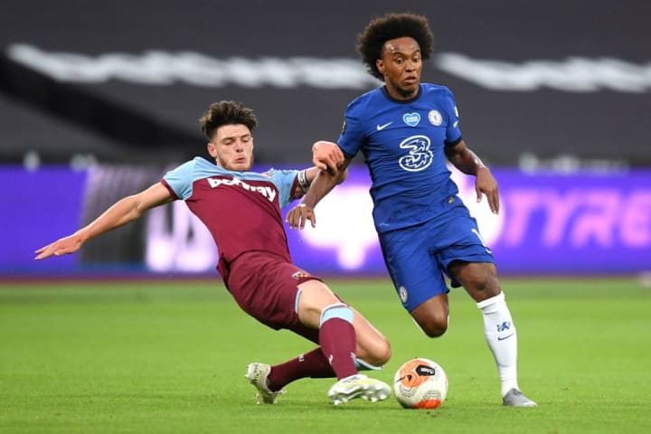 Declan Rice, Willian