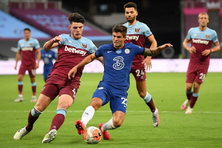 Christian Pulisic was energetic throughout against West Ham