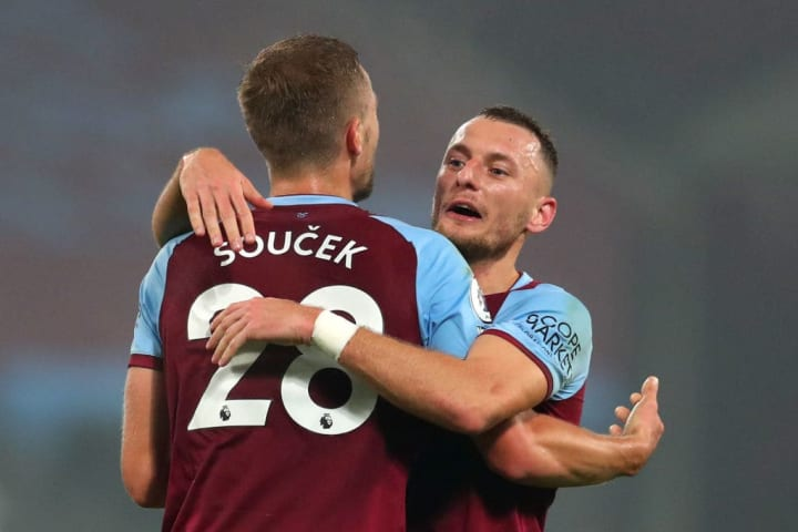 Two success stories of West Ham's style of play