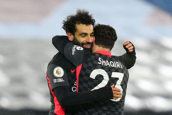 Salah has played a number of roles for Liverpool