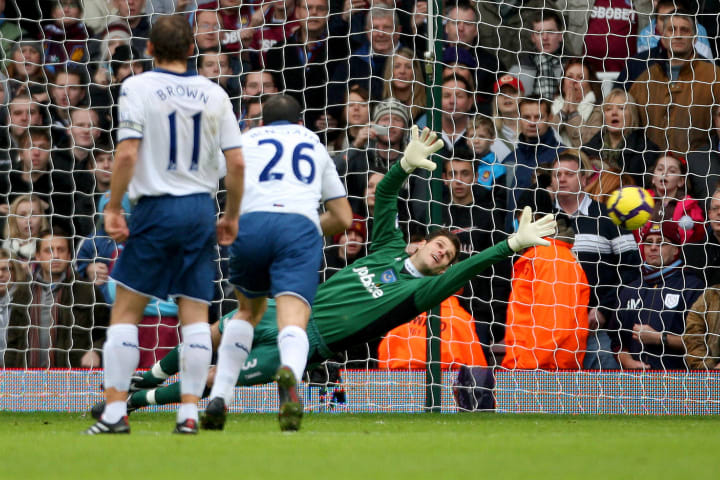 Asmir couldn't quite get to this one
