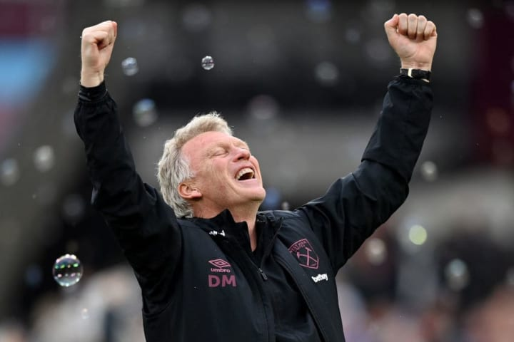 David Moyes is staying at West Ham