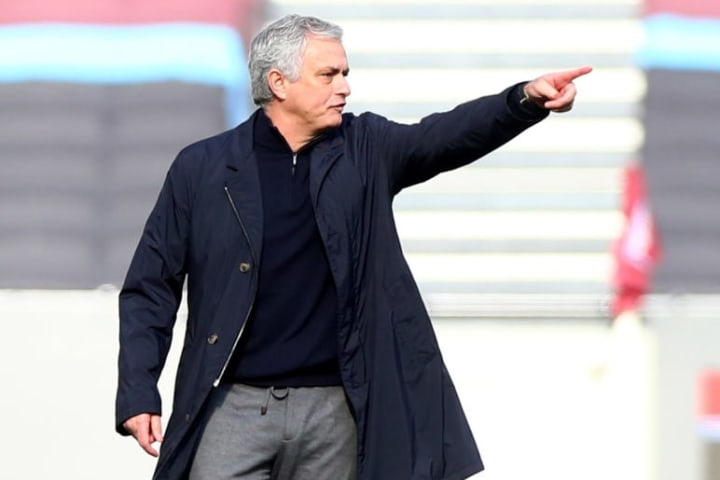 Jose Mourinho could still lead his side to a top-four finish